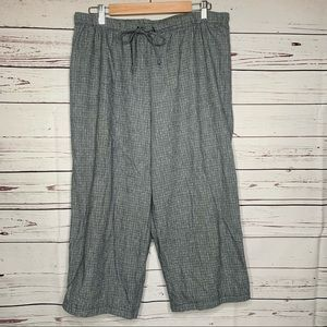 Hot Cotton | Capri Drawstring Pants